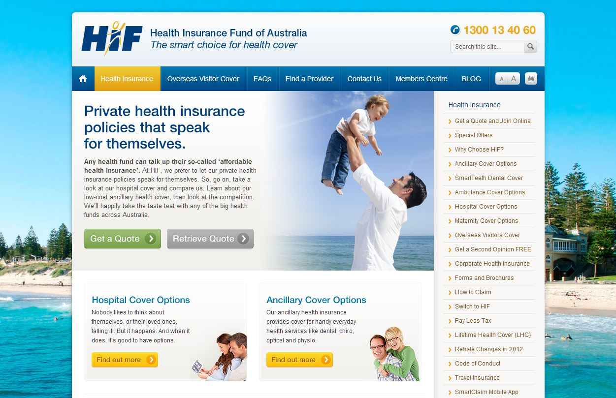 HEALTH INSURANCE FUND OF AUSTRALIA LIMITED