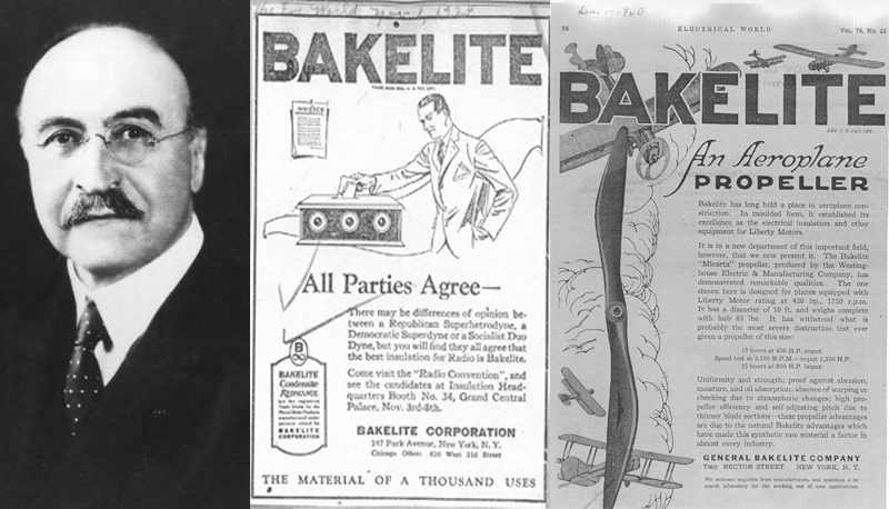 Leo Hendrik Baekeland Bakelite Inventor