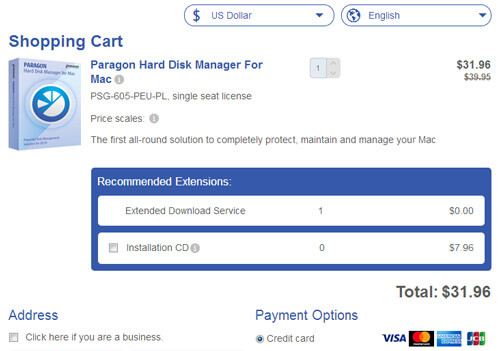 Paragon Hard Disk Manager Coupon Promo Discount