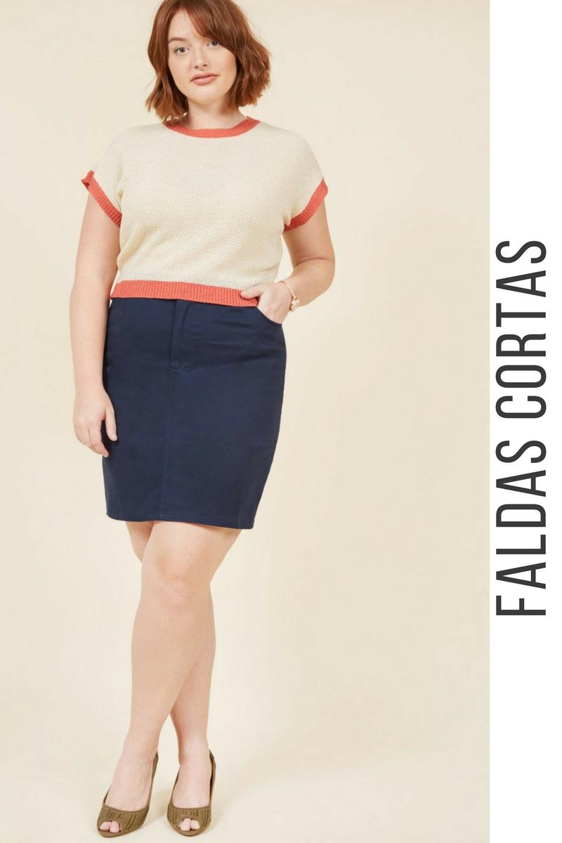 e049bdb521 43 Modelos de Faldas Cortas que NO te Puedes Perder ¡Tendencias ...