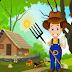 Games4King - Cute Farmer Rescue Escape