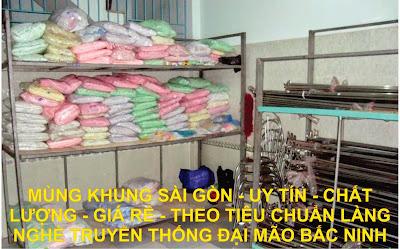 Mùng khung sài Gòn
