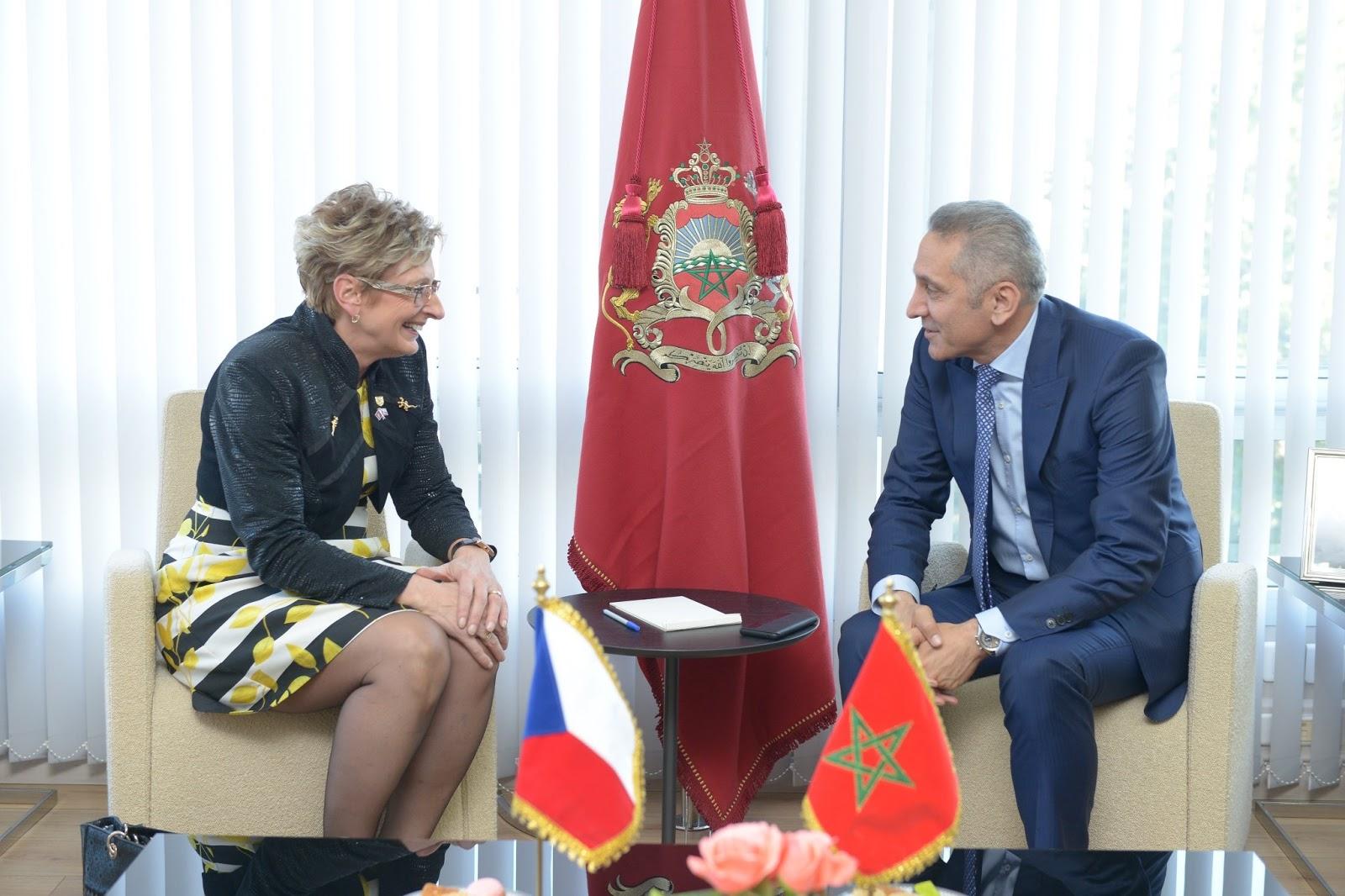 التشيك ترغب في رفع حجم إستثماراتها بالمغرب في قطاعات الصناعة والتجارة