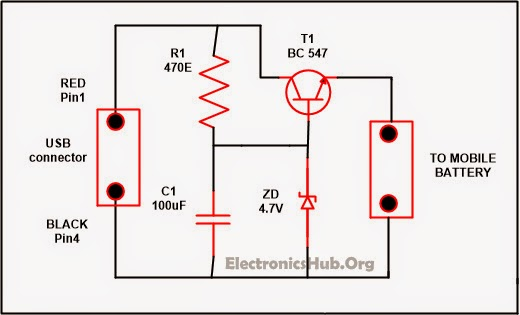 Electrical Engineering World  Usb Mobile Charger Circuit
