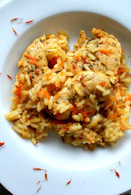 dietetyczne risotto,WZJG,wrzodziejące zapalenie jelita grubego co jeść,olej kokosowy skworcu,curry skworcu,risotto jak zrobić,