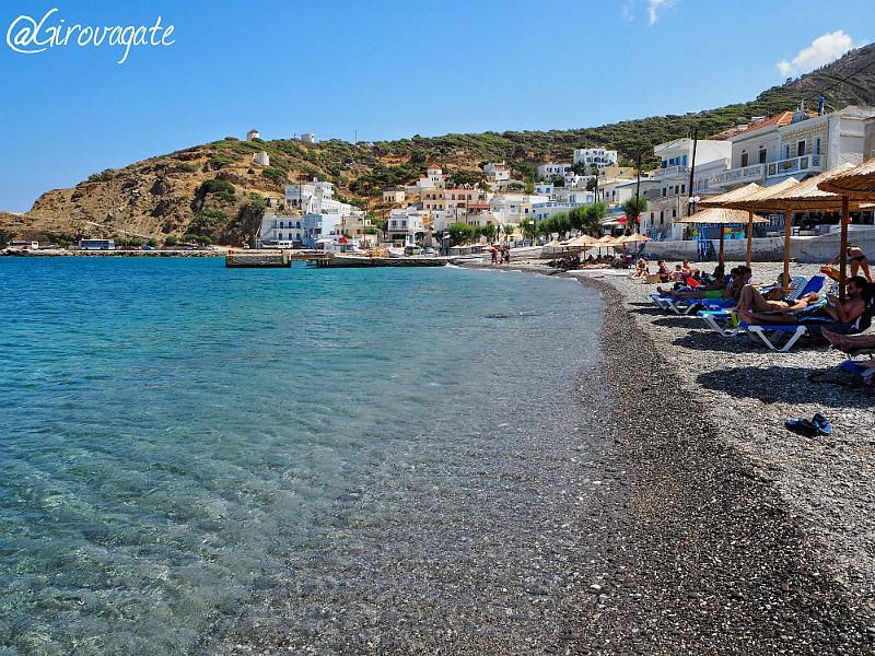 Diafani spiaggia Karpathos