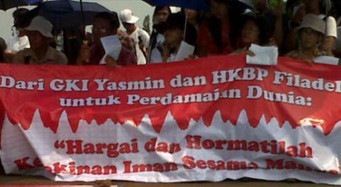 Jemaat Yasmin Tagih Janji Walkot Bogor 'Bangun Gereja di Sebelah Masjid'