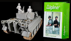 Construction Review: Two new 35th scale Summer Panzer Commanders from Alpine Miniatures