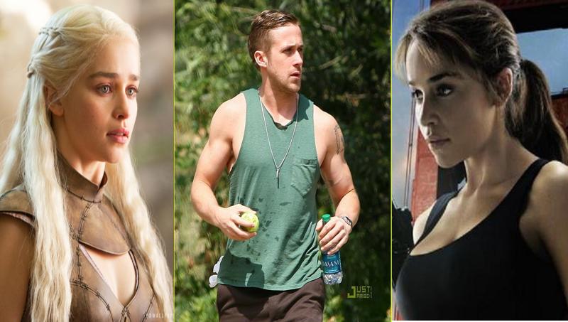 Emilia Clarke: Breakfast at Tiffanys Production Shots