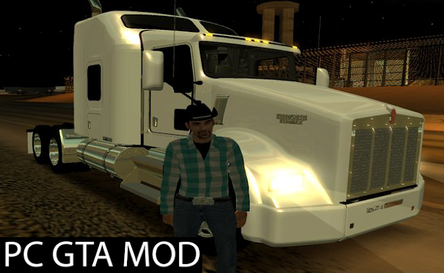 Download Kenworth Kenmex T800 Aerocab Mod for GTA San Andreas