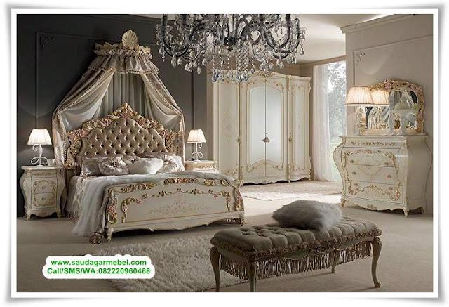 Kamar Set Mewah Eropa Terbaru, Kamar Set Jepara Mewah, Kamar Set Minimalis, Bed Set Mewah