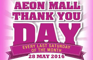 AEON Mall Thank You Day Promotion
