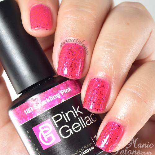 Pink Gellac Sparkling Pink Swatch