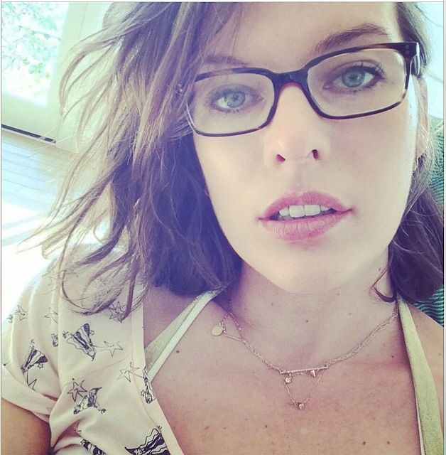 milla jovovich 40 years old