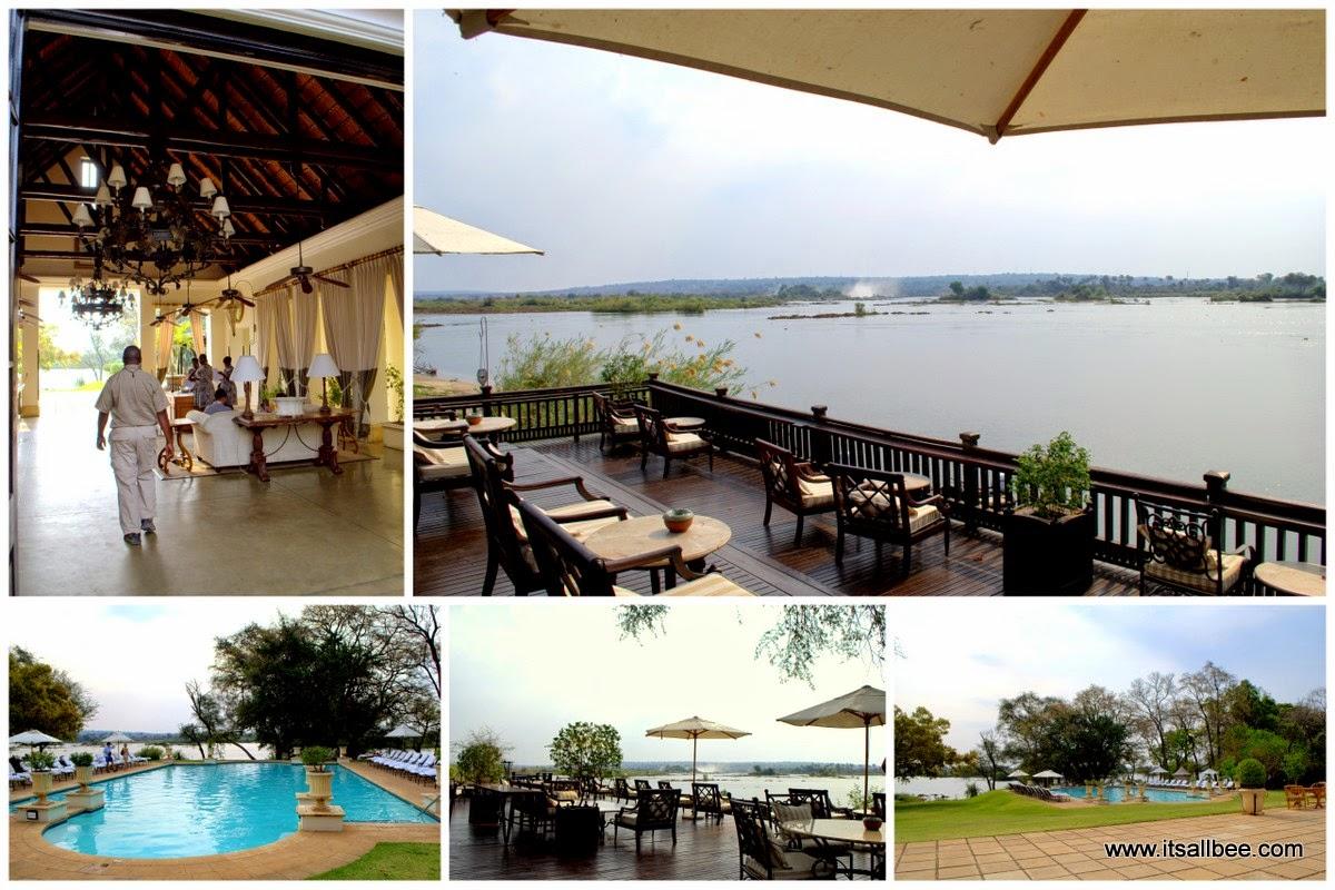 Victoria Falls | Royal Livingstone Hotel -  Livingstone Island