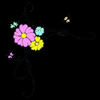 arabesco colorido