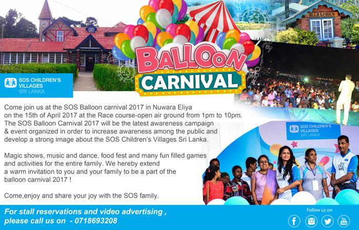 SOS Balloon Carnival 2017.