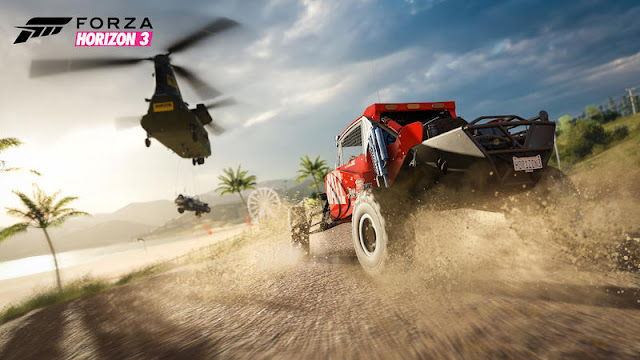 Mira cómo es el rendimiento de la demo de Forza Horizon 3