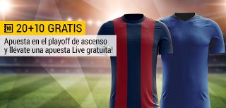 bwin promocion 10 euros Huesca vs Getafe 14 junio