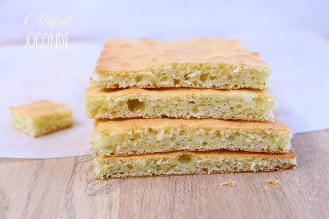 recette biscuit joconde