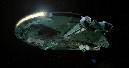 A Millennium Falcon bizonyos szemszögből