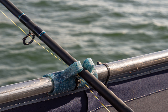 Photo of one of Phil's new rod rests