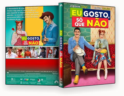 CAPA DVD – Eu Gosto Só Que Não DVD-R