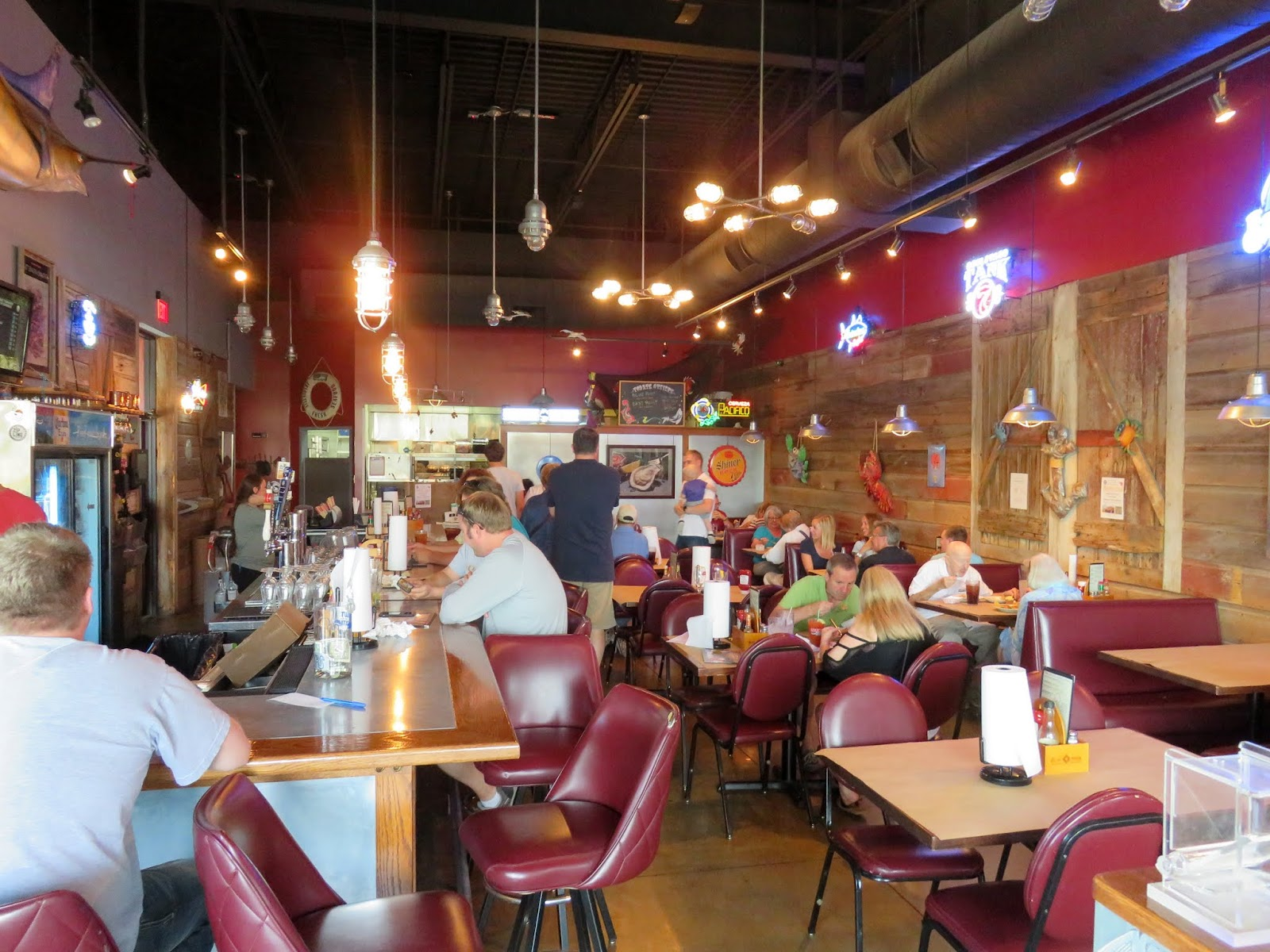 Daddy Dave Fish And Oyster Bar In Omaha Nebraska Seafood Restaurant Bonefish Grill