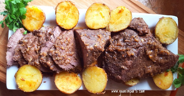 Assado De Carne Recipe