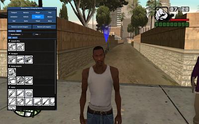GTA San Andreas New Cheat Menu 1.6 Free Download For Pc