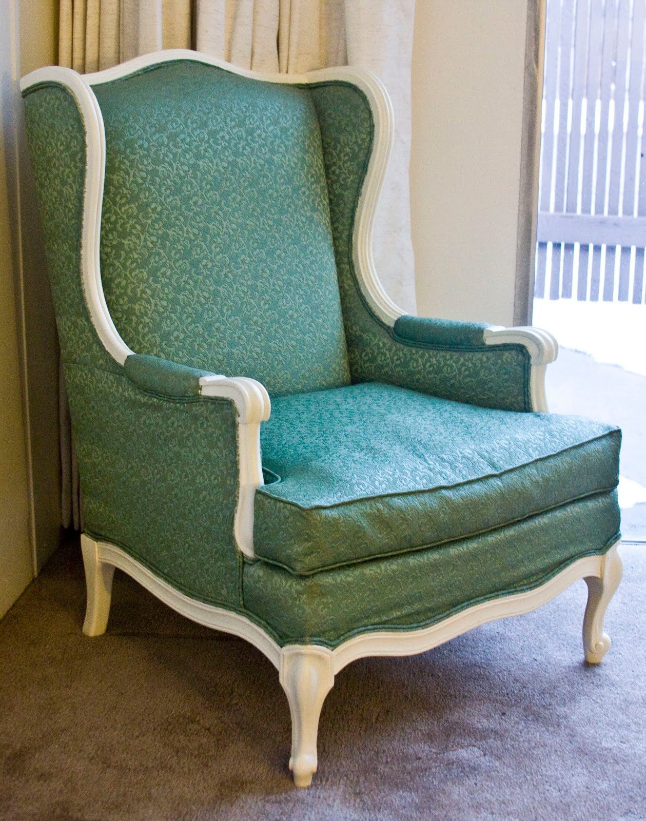 All About the Cozy: I want a UNIQUE wing back chair ..and ...