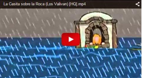 VIDEO ENSEÑANZA DE JESUS DE LA CASITA SOBRE LA ROCA