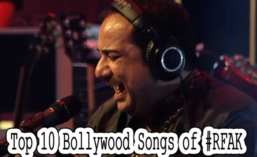 Top 10 Most Popular Bollywood Singers of 2017 - Rahat Fateh Ali Khan