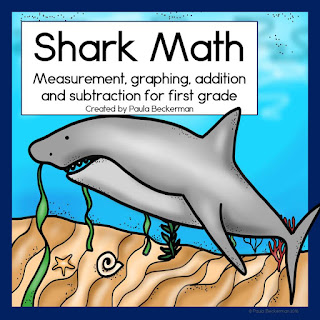 https://www.teacherspayteachers.com/Product/Shark-Math-for-First-Grade-2565521