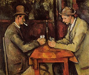 World's ten most expensive paintings/The Card Players, Paul Cézanne