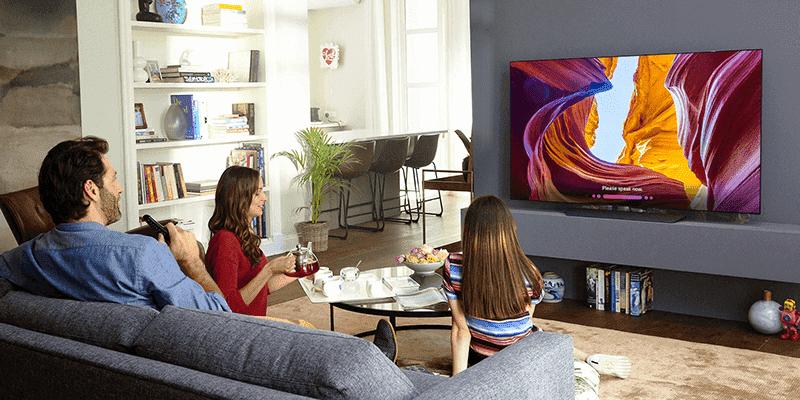 B8 4K OLED TV