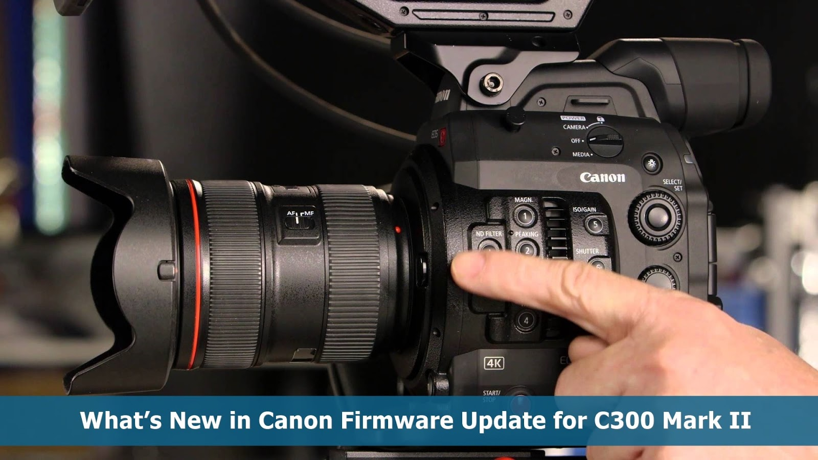 Canon C300 Mark II firmware
