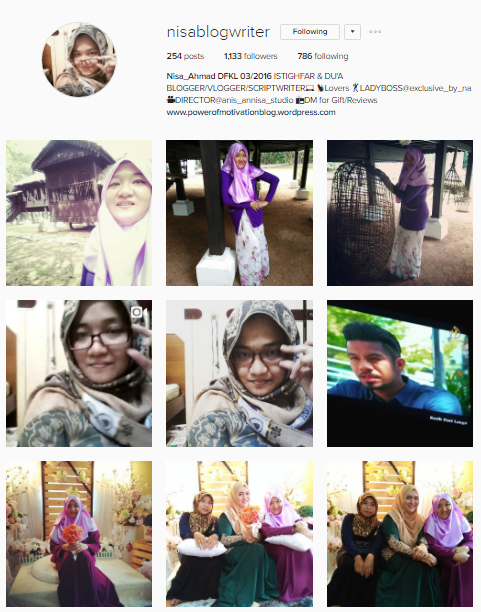 Shawl Pemberian Blogger Nisa Ahmad | Jom Kenali Blogger Ini