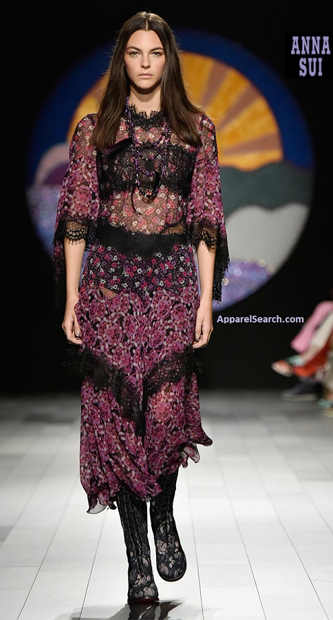 Anna Sui Spring Fashion 2018