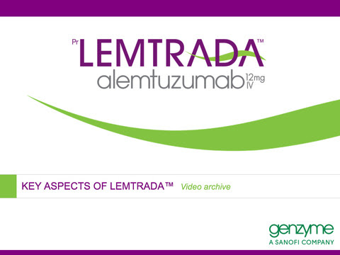Lemtrada - Three Months After First Infusions