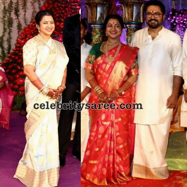 Radhika Saratkumar Light Weight Sarees