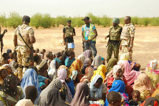 Photos Of 998 Persons Soldiers Rescued From Boko Haram Captivity 1