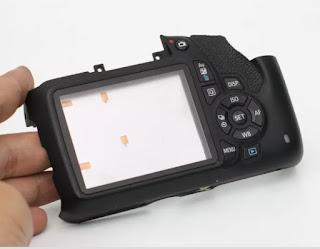 Back Case Canon EOS 1200D + Tombol