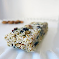 Paleo Nut and Berry Granola Bars