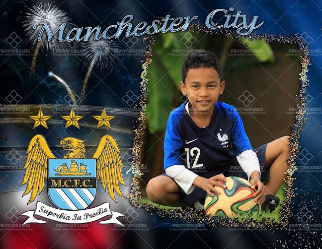 Marco para fotos del Manchester City