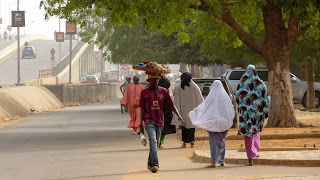Daily life in the streets of Niamey