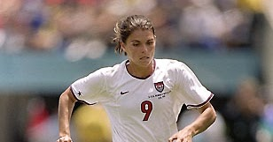 mia hamm essays An essay or paper on the life and achievements of mariel margaret hamm mia hamm just about everyone knows her name, and millions of young women want to play soccer like the great mia, and bring home the gold for their own country.