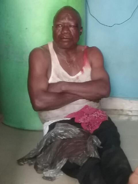 Notorious 419 kingpin beaten black and blue in Delta State