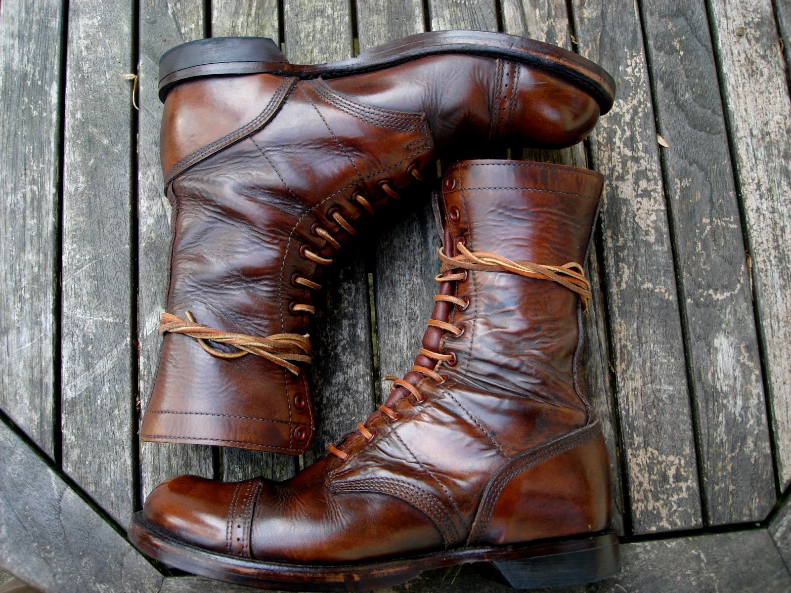 How to Shine Brand New Corcoran Jump Boots