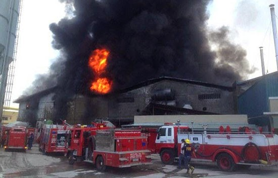 32 killed workers in Tsinelas Factory Fire at Brgy. Ugong, Valenzuela